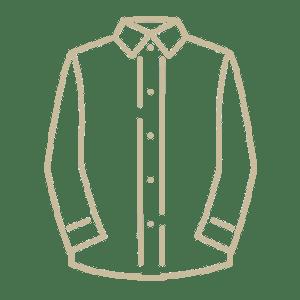 シャツの修理