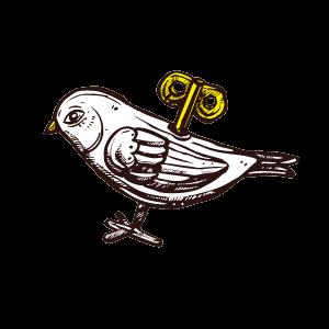 玩具の小鳥